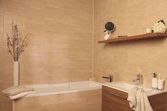 3 Swish Marbrex Sandstone Large Tile Effect PVC Panels Bathroom Wall Cladding