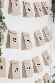 advent calendar..i like the simplicity of this one