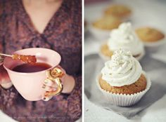 earl grey tea cupcakes// fraeulein-klein.b...