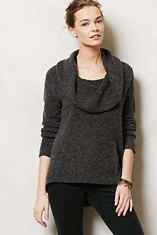 boucle cowlneck. also comes in an amazing burnt orange.