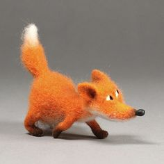 Новый мастер-класс «Лиса» Needle Felted Ornaments, Felted Wool Crafts, Felt Ornaments, Needle Felted Animals, Felt Animals, Needle Felting, Felt Fox, Wool Felt, Fox Illustration