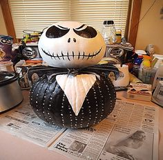 How to create 'Jack the Pumpkin King'