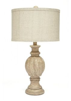 Gallery Designs Lighting Parchment Shade On Aged Beige Base Table Lamp Grey Table Lamps, Table Lamp Wood, Lamp Shades, Light Shades, Farmhouse Floor Lamps, Home Decor Lights, Small Tables, Lamp Design, Lamp Light
