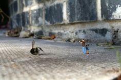 #miniature #mini #Slinkachu - © Slinkachu