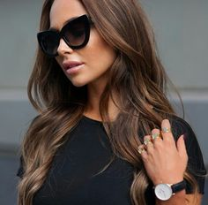 Long Wavy Ash-Brown Balayage - 20 Light Brown Hair Color Ideas for Your New Look - The Trending Hairstyle Chocolate Brown Hair Color, Brown Ombre Hair, Chocolate Hair, Brown Blonde Hair, Light Brown Hair, Brown Hair Colors, Brunette Hair, Brown Low Lights, Burgundy Hair