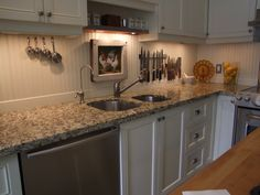 How to install a beadboard backsplash Kitchen Pinterest