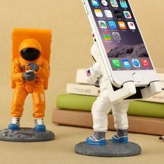 Astronaut Spaceman Phone Stand#Mobile Accessories#Mounts & Holders#iphone