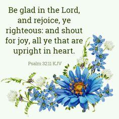 Psalm 32:11 KJV