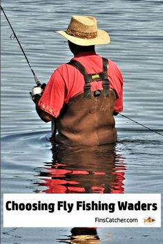 You do have some choices when considering what type of fly fishing waders you will want to buy. There are two different types of waders: those that come with built-in boots and those without. Fly Fishing Gear, Fly Fishing Tips, Fishing Videos, Fishing Knots, Best Fishing, Trout Fishing, Fishing Reels, Fishing Lures, Tuna Fishing