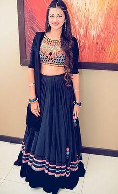 Bhagalpuri+Silk+&+Shantoon+Machine+Work+Royal+Blue+Unstitched+Lehenga+-+1013 at Rs 1399