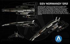 SSV Normandy SR2 ortho by unusualsuspex.deviantart.com on @deviantART