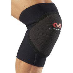 Genouillère de handball Mc David Soft garnie en mousse EVA offrant une excellente résistance aux chocs, avec un revêtement extérieur en Kevlar pour une excellente résistance à l'abrasion.