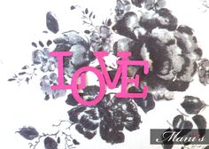 The month of love is around the corner and we've been experimenting! Our love for black, white, gold and pink! Valentine Day Luxury Cards with floral accents! https://www.facebook.com/ManisCreativeServices
