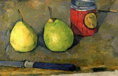 Pears and Knife Paul Cezanne - 1877-1878