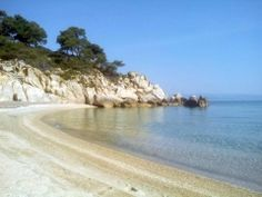 Fava #beach #Vourvourou, Sithonia #Halkidiki #Greece