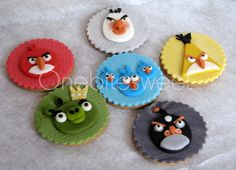 Angry birds cookies