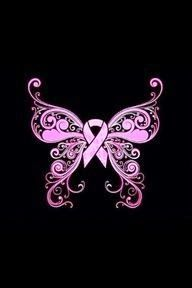 Fibromyalgia butterfly tattoo design
