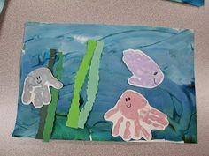Under the Sea Handprint Art