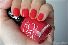 Vally's corner - Blog | Life, beauty, books and something more.: Nails - Rimmel 60 Seconds #430 Coralicious