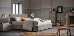 Soft #letto #bed #letto imbottito #padded bed
