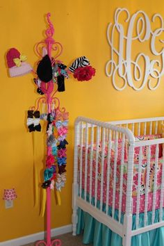 Project Nursery - Colorful Girl Nursery Details Up Close