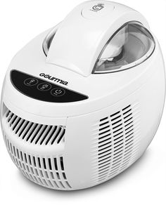 Gourmia GSI480 Automatic Ice Cream Maker with Internal Cooling System - No Pre Freezing Needed, Makes Hard Soft Serve Ice Cream, Gelato, Sorbet Frozen Yogurt Includes Free Recipe Book - 2.1 Pints ** Continue to the product at the image link.