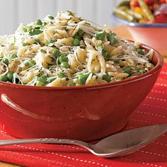 Recipes mom will love: Parmesan Orzo Pasta