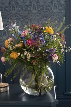 Best known for iconic floral prints, Laura Ashley are introducing their new fresh flowers range, available at Next. Carefully selected to create a bouquet reminiscent of a country garden, this bouquet is a collection of multi-coloured blooms in a beautifully presented gift bag. Featuring a vibrant mix of ranunncculus, delphiniums, asclepsias and rosemary, this charming bouquet will make a stunning gift for all occasions.