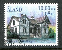 Aland Island  Scott #171 Architecture 2000