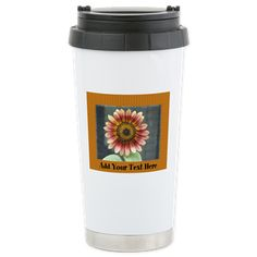 Autumn Beauty Sunflower Mugs