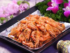 Zhejiang Cuisine - Shelled Shrimps Cooked in Longjing Tea
