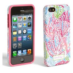 Lilly Pulitzer® 'Let's Cha Cha' iPhone 5 Case ($28) ❤ liked on Polyvore featuring accessories, tech accessories, phone cases, phone, iphone, iphone case, blue multi, apple iphone cases, lilly pulitzer iphone case and iphone cover case