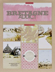 """#papercraft #scrapbook #layout   """"Inspiration is everywhere !!!"""""""