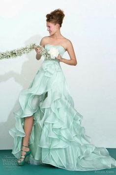 Gorgeous mint bridesmaid dress- Atelier Aimée