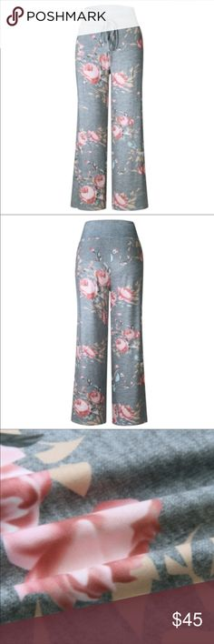 "💜🆕ON SALE🆕""Shawn"" Relaxed Fit Floral Yoga Pants 💜🆕ON SALE🆕 ""Shawn"" Relaxed Fit Floral Yoga Pants Color ~ Gray Floral  Fabric ~ 85% Polyester / 15% Cotton  Can you say COMFY!! These stylish pants are fantastic for relaxing in style!! Xemoda Pants Track Pants & Joggers"