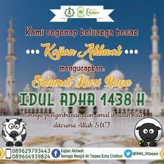 kajian Akhwat mengucapkan Selamat Hari Raya Idul Adha 1438 H