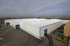 Bâtiment industriel démontable par Legoupil Industrie. Location 12 bâtiments industriels 100% acier par un constructeur automobile. http://www.legoupil-industrie.com