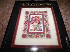 Dimensions ELEGANT TAPESTRY The Gold Collection NIP Counted Cross Stitch Kit!  #Dimensions
