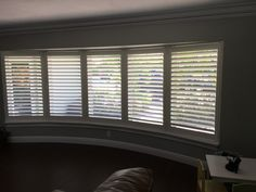 Bathroom Pictures, Interior, Windows, Interior Shutters, Custom Drapery, Diy Decor, Bay Window, Blinds, Custom Shutters
