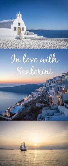 Travel Santorini Greece   Reise Santorini Griechenland. In love with Santorini. Was du auf dieser wunderschönen Insel alles machen kannst...
