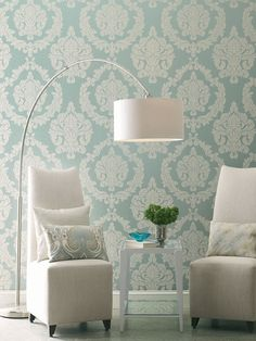 Candice Olson Inspired Elegance Aristocrat Wallpaper by York Wallcoverings