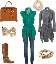 """""""Fall Outfit"""" by natihasi on Polyvore"""
