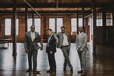 Groom Style   Groomsmen Attire   Grey & Blue   London NYC Brooklyn Wedding Photographer