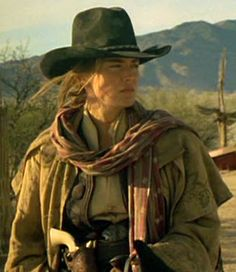 Sharon Stone ~ The Quick & The Dead... Love her wardrobe in this movie!