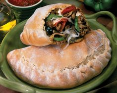 Calzones or Pizza Pockets made with Rhodes Rolls Cajun Recipes, Oven Recipes, Pizza Recipes, Camping Recipes, Recipies, Camping Cooking, Meal Recipes, Dutch Oven Cooking, Cast Iron Cooking