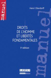 Droits de l'Homme et libertés fondamentales 5e édition