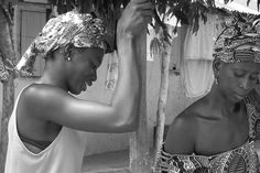 Faces of Gambia - Beautiful b/w photos of Gambian people  #gambia #africa #people #portrait #photography