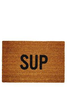 Sup Doormat ;)