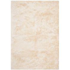 Safavieh Silken Paris Shag Ivory Shag Rug (10' x 14') 523.93