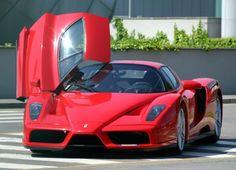 Red Ferrari Enzo $1,200,000